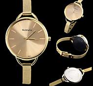 Lady's Fashion Simple Casual Watch Slim Steel Strap