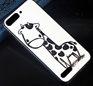 Cartoon giraffe Pattern Design Pattern Back Cover Protective Hard Case for Huawei Ascend G6