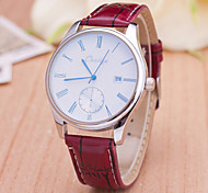 Men's Watches 2015 June New Style Fashion Men Belt Watch Swiss Alloy Calendar Quartz Watch