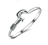 Xu™ Women's Dolphins Love  925 Silver-Plated Charm Bracelets