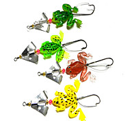 4pcs Fishing Bait Soft Lures (Random Color)