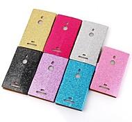 placcatura cellulare casse del telefono in pelle di moda in polvere per Nokia Lumia 925 (colori assortiti)