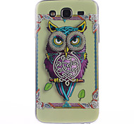 Personality Owls Pattern TPU Soft Case for Samsung Galaxy Mega 5.8 I9150 I9152