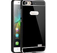 HHMM Metal Aluminum Frame PC back Cover mobile phone Covers Protective Cases For Huawei honor 4C(Assorted Colors)