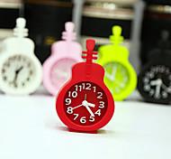 Violin Shape Novelty Alarm Clock Home Decor (Random Color)