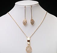 European Fashion  Hollow Jewelry Set series 5