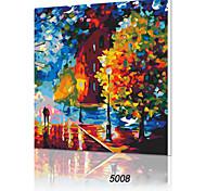 fai da te digitale pittura ad olio famiglia cornice divertimento dipinto da solo la vita è bella x5008