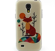 volpe modello materiale TPU soft phone per mini i9190 Samsung Galaxy S4