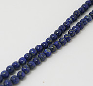 Beadia 39Cm/Str (Approx 94Pcs) Natural Blue Lapis Lazuli Beads 4mm Round Stone Loose Beads DIY Accessories