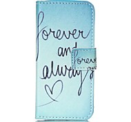 LEXY® Green Word Pattern PU Full Body Leather Case with Screen Protector and Stylus for iPhone 5C