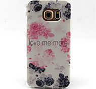 Watercolor Pattern TPU Painted Soft Back Cover for GALAXY S6/S6 edge S5/S5Mini S4/S4Mini S3/S3Mini