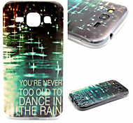 Raindrop Pattern TPU Material Phone Case for Samsung  Galaxy Grand Neo i9060/G355H/G360/G850/G530/J1/G350