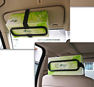 Tissue Box Clip For Vehicle Sunshade Board Paper Towel Rack Creative Car