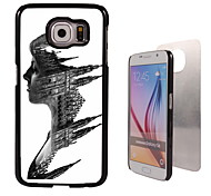 Castle in the Face Design Aluminum High Quality Case for Samsung Galaxy S6 SM-G920F