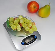 5 kg de poids 1g de bureau de balance de cuisine numérique avec fonction LCD affichage de la tare