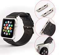 single-buckle Multicolor Fashion Genuine leather Watchband for Apple iWatch 42mm 38mm