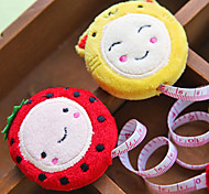 Cartoon Plush 150cm 60 Inch Ruler Retractable Measure Tape Sewing Tool Stationary