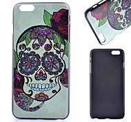 Skull Pattern PC Material Phone Case for iPhone 6
