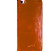 UWEI Oil Wax Skin Case Simple Style for Millet Note