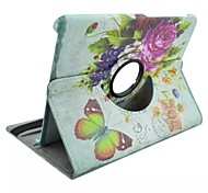 vale Muster 360-Grad-Umdrehung PU-Leder Ganzkörper-Fall mit Standplatz für Samsung Galaxy Tab 9.7 s2 t815