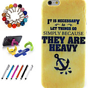 Good Quality TPU Coloured Drawing or Patter Novelty with Stylus Pen, Dustproof Plug and Stand for iPhone 5/5S