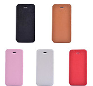 Lichee Pattern High Quality PU Wallet Leather Case for iPhone 5/iPhone 5S(Assorted Colors)