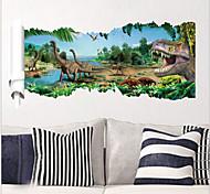 2015 New ZooYoo® 1458 Jurassic Park Movie Dinosaurs Wall Stickers