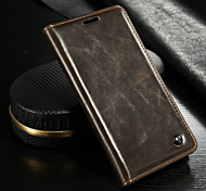 With The Support Of Mobile Phone Card LEATHER HOLSTER For Samsung Galaxy Note 5