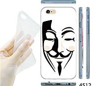maycari®v per la mascherina di faida modello TPU fondello trasparente molle per il iphone 6