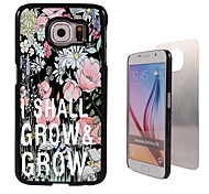 I Shall Grow Design Aluminum High Quality Case for Samsung Galaxy S6 SM-G920F