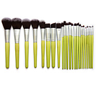 Bamboo Fibre Makeup Brush Set Kabuki Foundation Blending Blush Tool