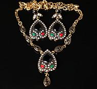 Z&X® Bohemian Vintage Heart Alloy Jewelry Set Party/Casual 1set
