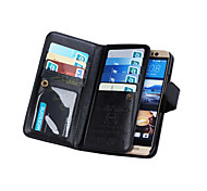 DE JI Wallet PU Leather Case For HTC M9 With 9 Card Slot (Assorted Colors)