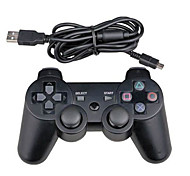 Wired Dual Shock Six-Axes Controller For Sony PS3 Console PC Game