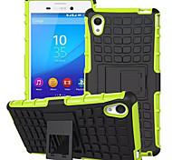 misturar cores TPU&pc pesados caso estande da armadura para o Sony Xperia m4 Aqua (cores sortidas)