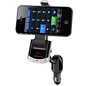 Smart Phone Holder:Support FM Transmitter,MP3 Player, USB Charging, Hands Free. P03-BT8118
