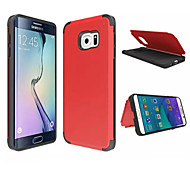 Hybrid Impact Shockproof Cover Hard Armor Shell for Samsung Galaxy S6 edge (Assorted Colors)