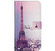 Transmission Tower Pattern PU Leather Phone Case For Nokia N640