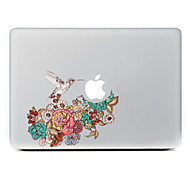 Magpie Flowers Decorative Skin Sticker for MacBook Air/Pro/Pro with Retina Display
