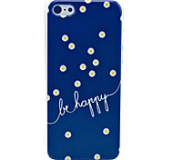 Be Hard Case felice Daisy Pattern for iPhone 5C