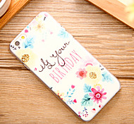 Oil Painting Flower Pattern Hard Back Case for iPhone 6