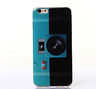 Fluorescent Camera Pattern TPU Soft Case for iPhone 6 Plus