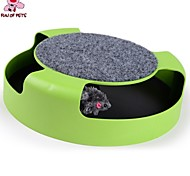 FUN OF PETS®Feline Frenzy with Scratch Pad  Pets Dogs Toy for Pets Cats Toy Entertainment Scratcher