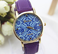 6 Colors Hot sell   National wind  type strap fashion women's quartz watch folk style for female
