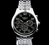 Xu™ Fashion Business And Leisure Level Of Waterproof Steel Belt Men's Watch