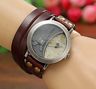 Women'S Watches Vintage Digital Eiffel Tower Leather Quartz Bracelets Watches Cool Watches Unique Watches