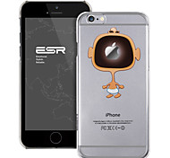ESR® Mania Series Scratch-Resistant Perfect Fit Cute Cartoon Laughing Baby Clear Hard Back PC Case for iPhone 6