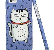 ESR® Illustrators Series Whimsical Cartoon Cat Hard Back Case for iPhone 6 (Dollar Cat)