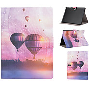 Hot air Balloon Pattern PU Leather Full Body Case with Stand Slot for T530/T550/T800