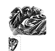 Maya Classical Individual Generous Unique Octopus Stainless Steel Man Ring(Black)(1Pcs)